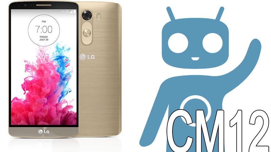 LG G3 CM12 CyanogenMod12 ROM
