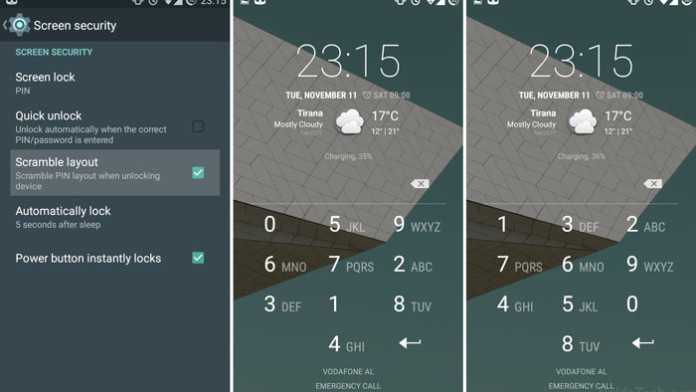 How To Enable Scramble PIN Layout on CyanogenMod 11