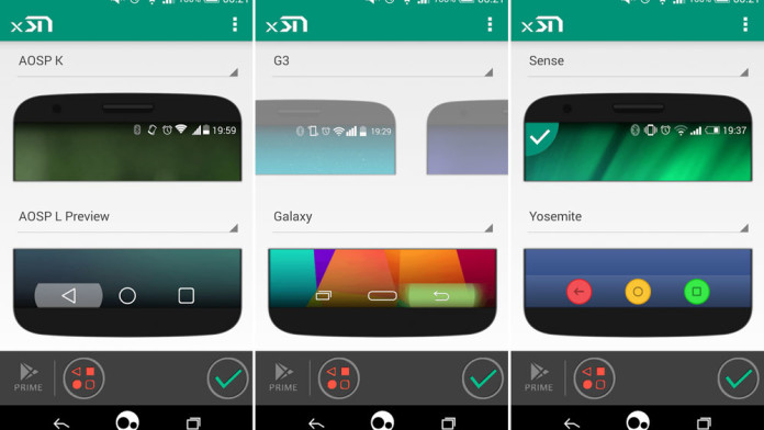 android 5.0 lollipop navigation system bar icons