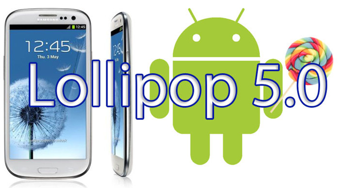 aosp rom galaxy s3 5.0 lollipop