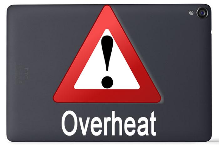 fix nexus 9 overheating high temperature issue