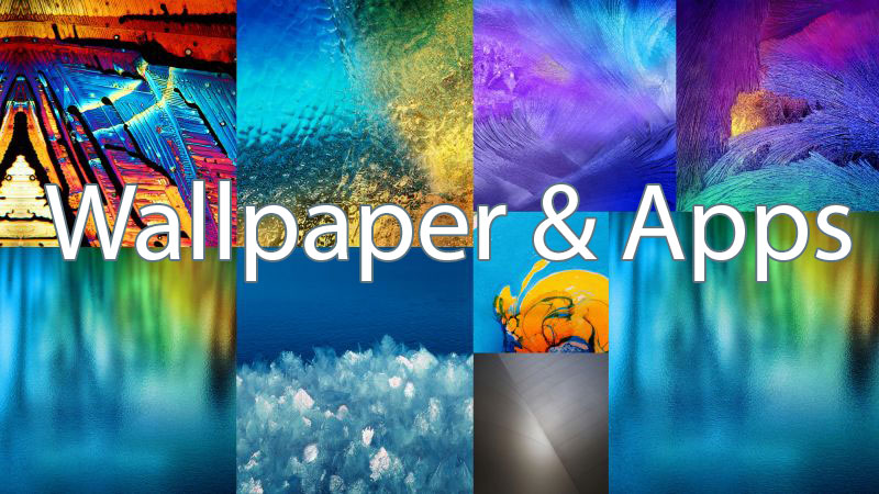 galaxy note 4 apps wallpaper pack