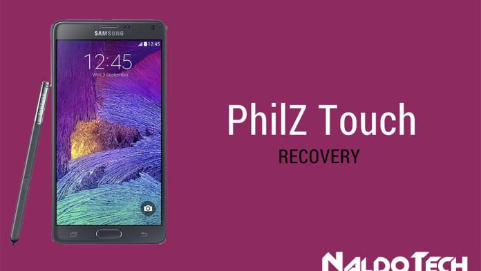 galaxy note 4 custom recovery philz cwm twrp