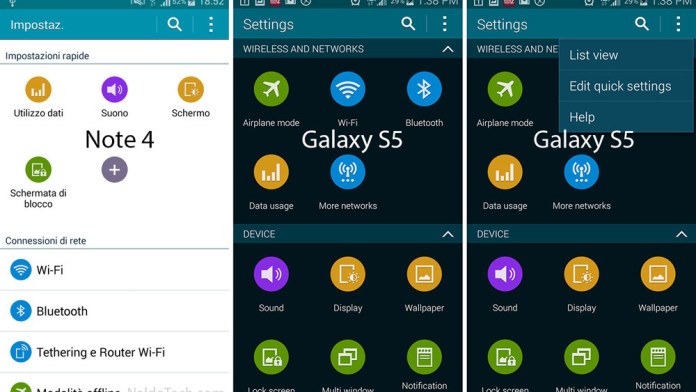 galaxy note 4 settings ui app apk