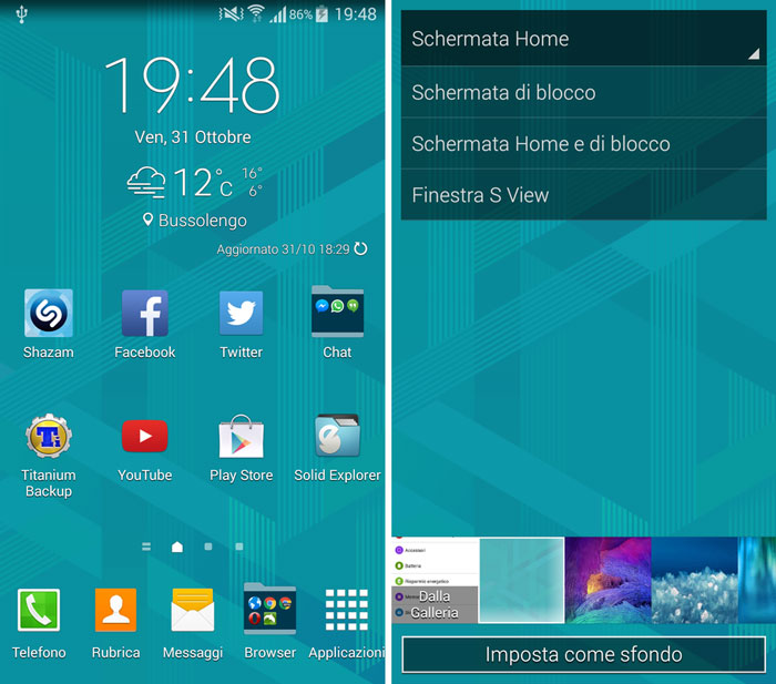 Download Samsung Galaxy Note 4 Touchwiz Launcher APK