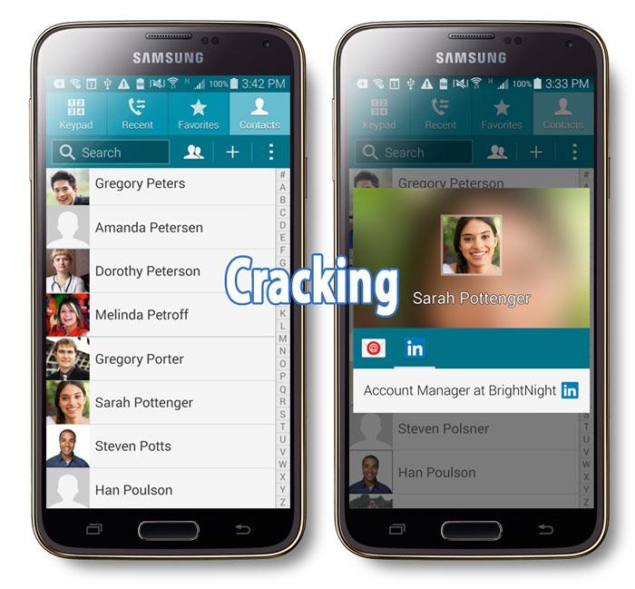 galaxy s5 cracking voice phone calls fix