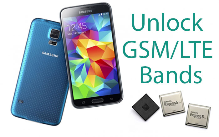 galaxy s5 unlock all bands gsm lte