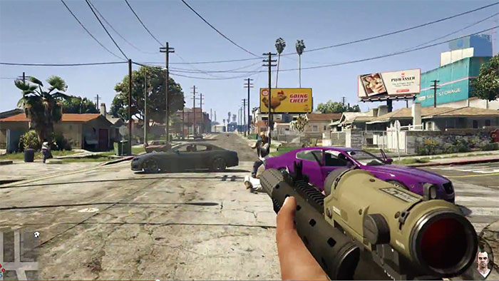 gta v first person view pc ps4 next gen