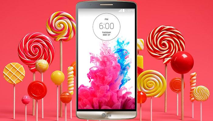 lg g3 official 5.0 lollipop update