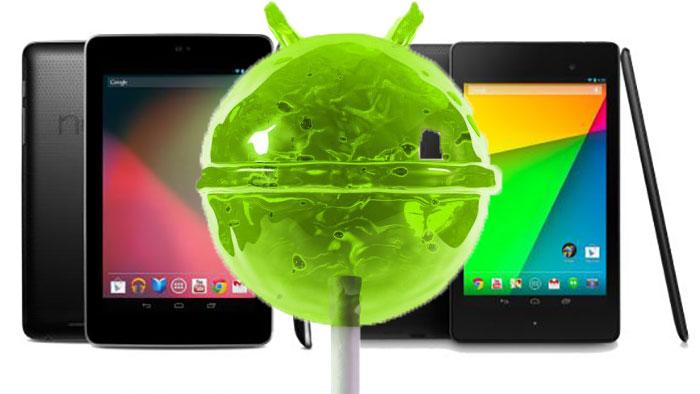 nexus 7 2012 android 5.0 lollipop factory image