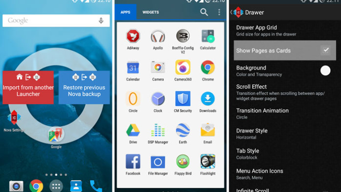 launcher 5 0 lollipop theme and white app drawer apk