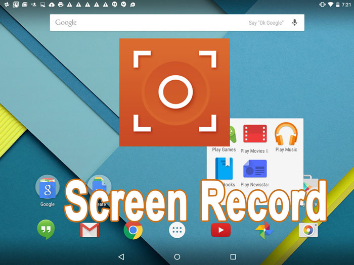 Download SCR Screen Recorder 5+ APK To Record Android Screen
