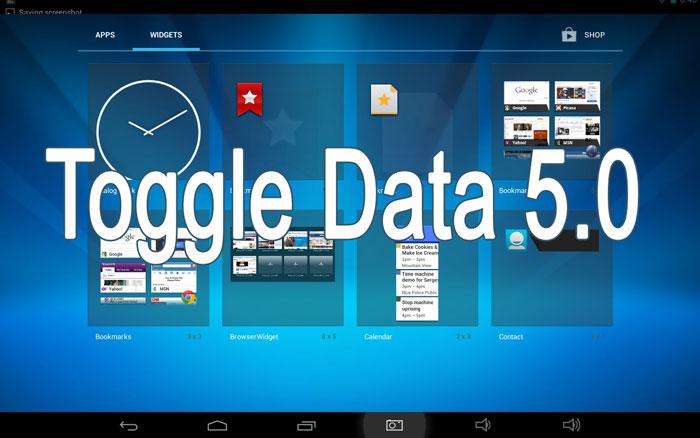 toggle data widget android 5.0 lollipop