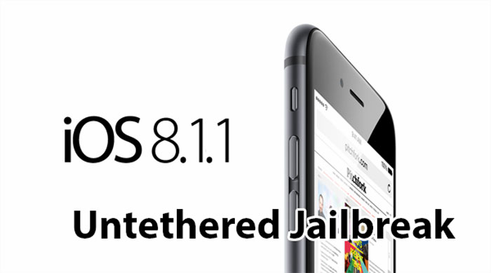 untether jailbreak ios 8.1.1 taig
