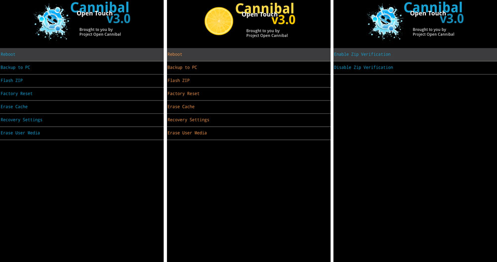 Cannibal Open Touch Recovery Nexus 5