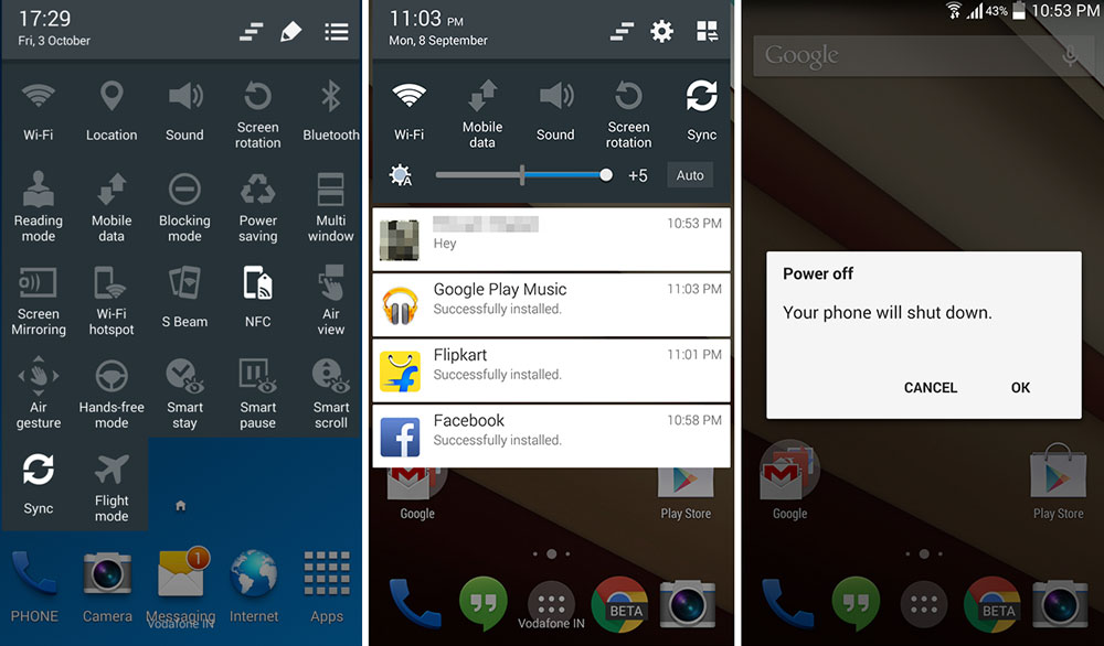 android 5.0 lollipop theme galaxy s4