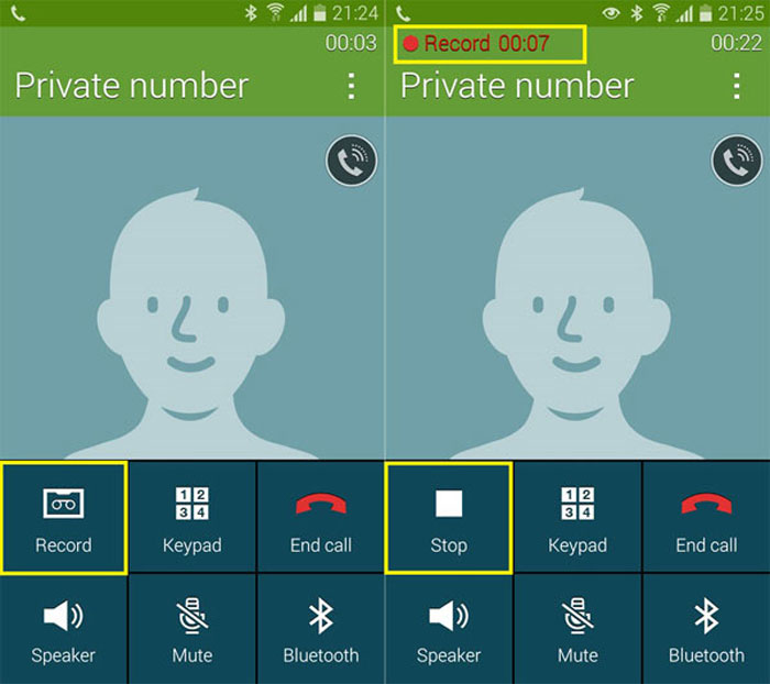 call recording galaxy s5 android 5.0 lollipop