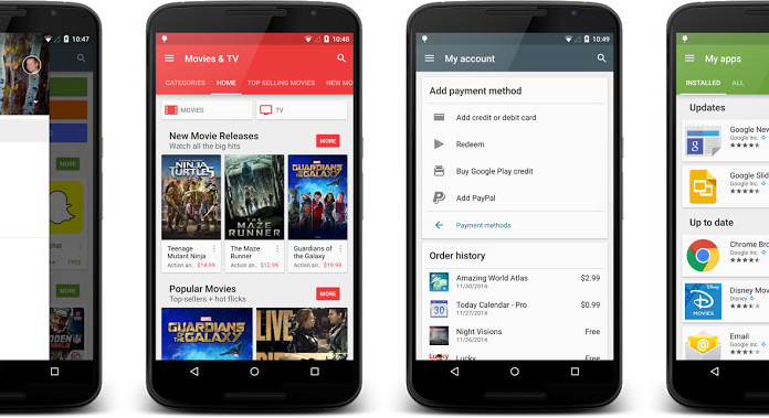 google play store apk android 5.1