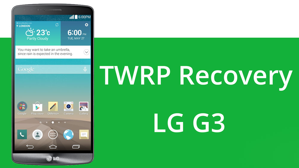 lg g3 twrp recovery