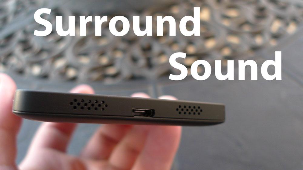 nexus 5 speakers surround sound