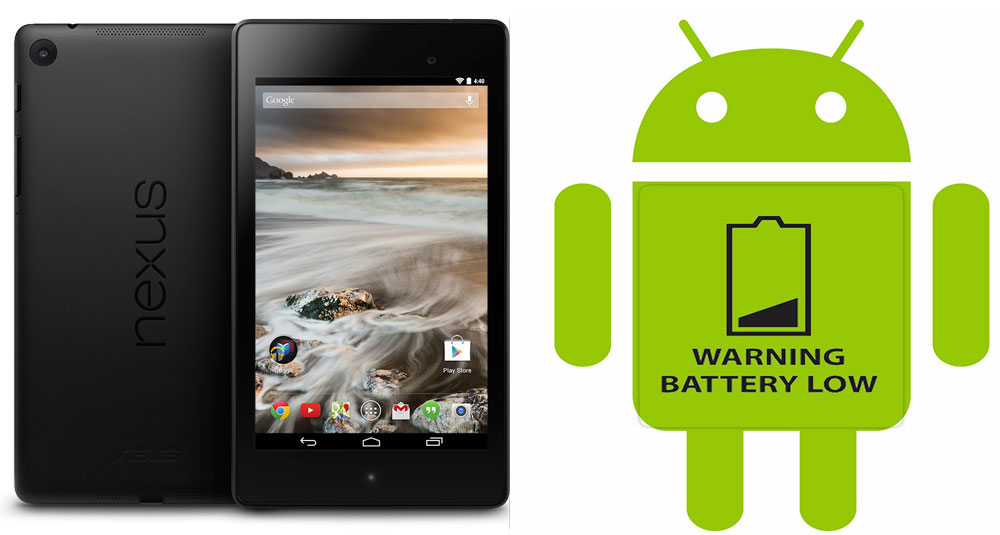nexus 7 battery drain slow charging issue fix