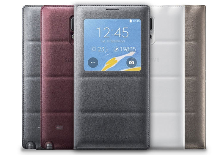 note 4 s view cover case