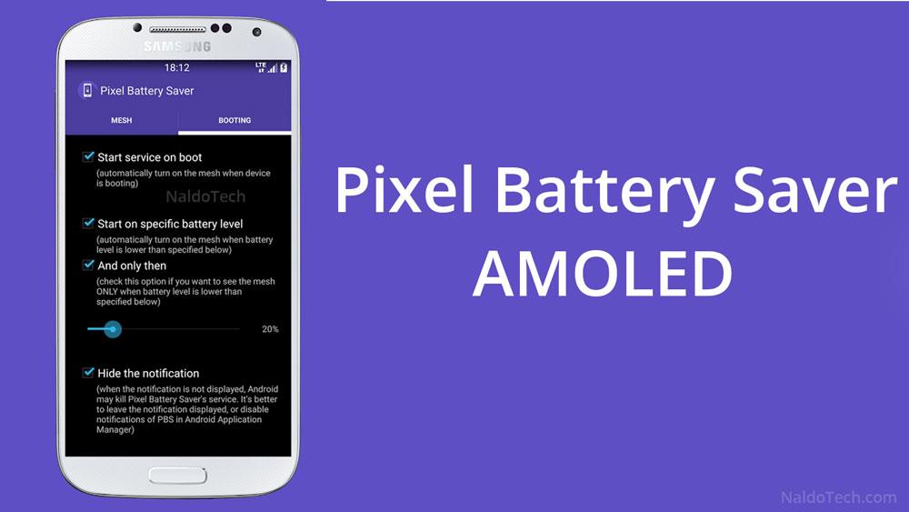 pixel battery saver amoled