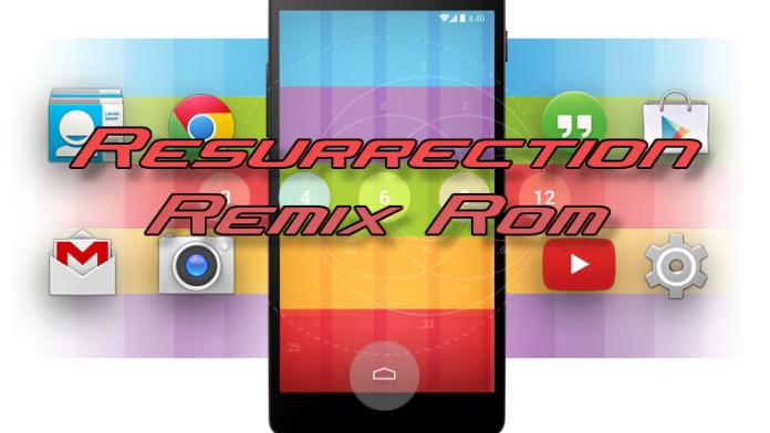 resurrection remix rom galaxy s3