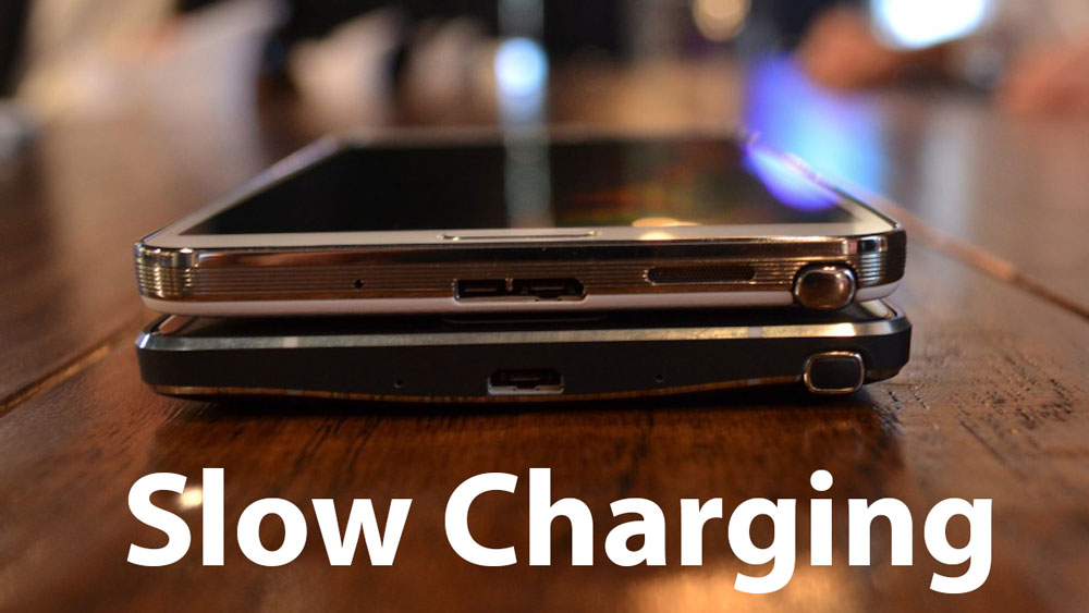 slow not charging galaxy note 4 fix