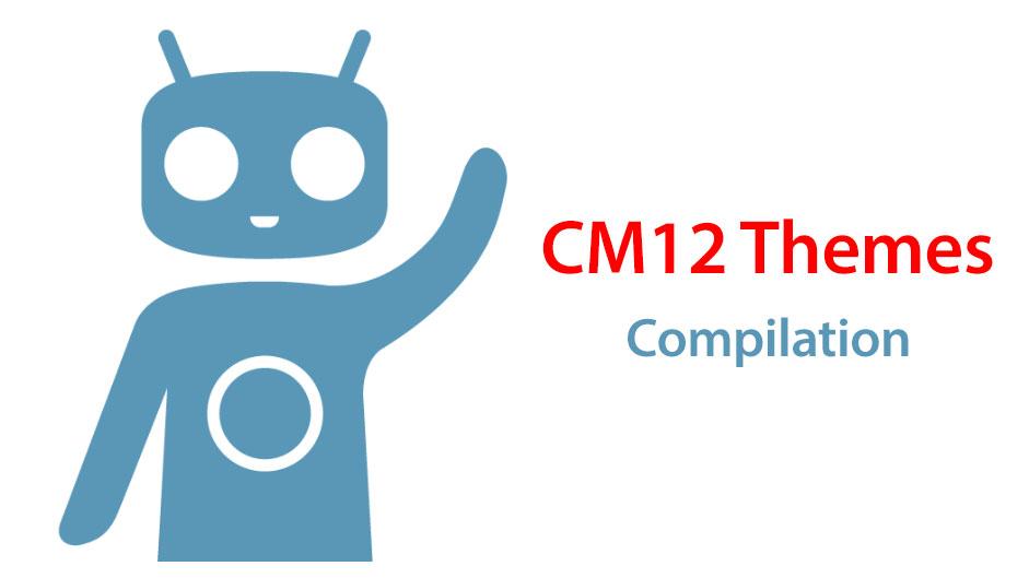best cyanogenmod 12 themes