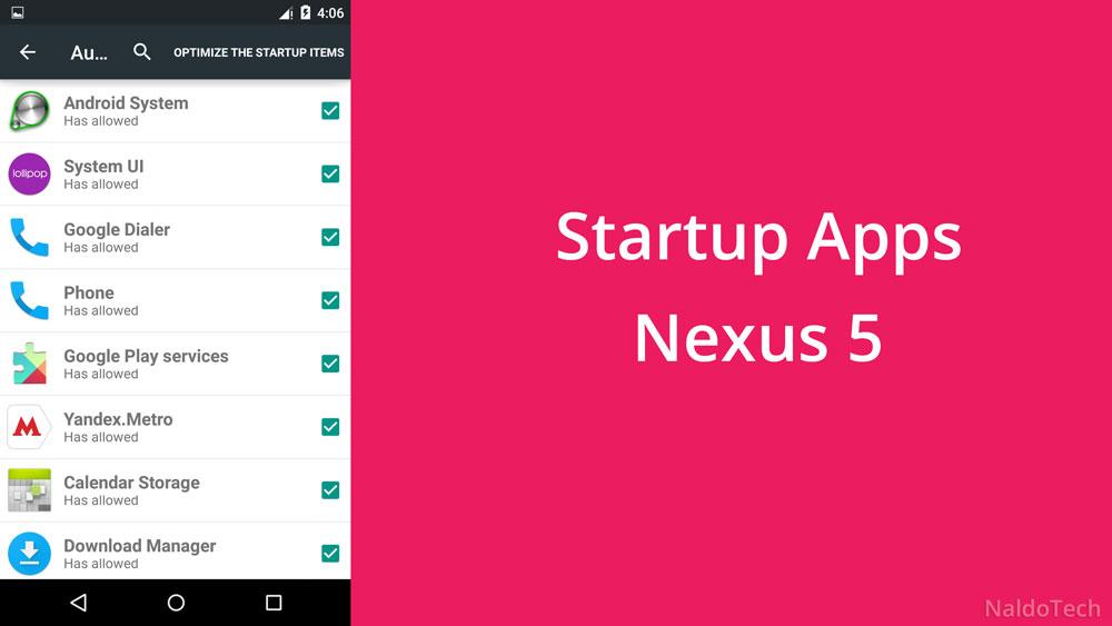 Android Autostart App