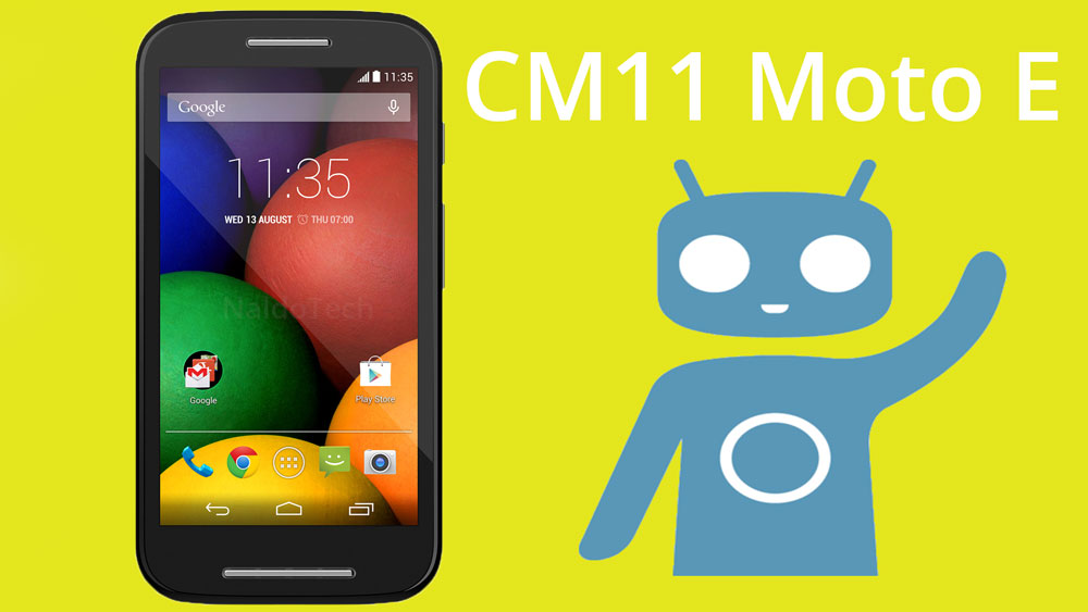 Official CyanogenMod 11 Android 4 4 4 KitKat for Moto E