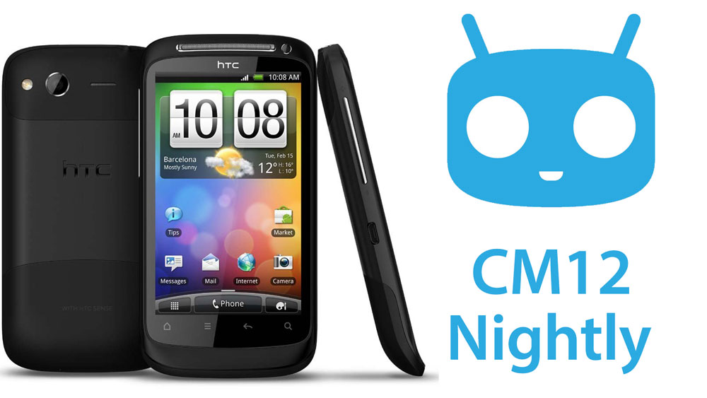 desire s cm12 nightly