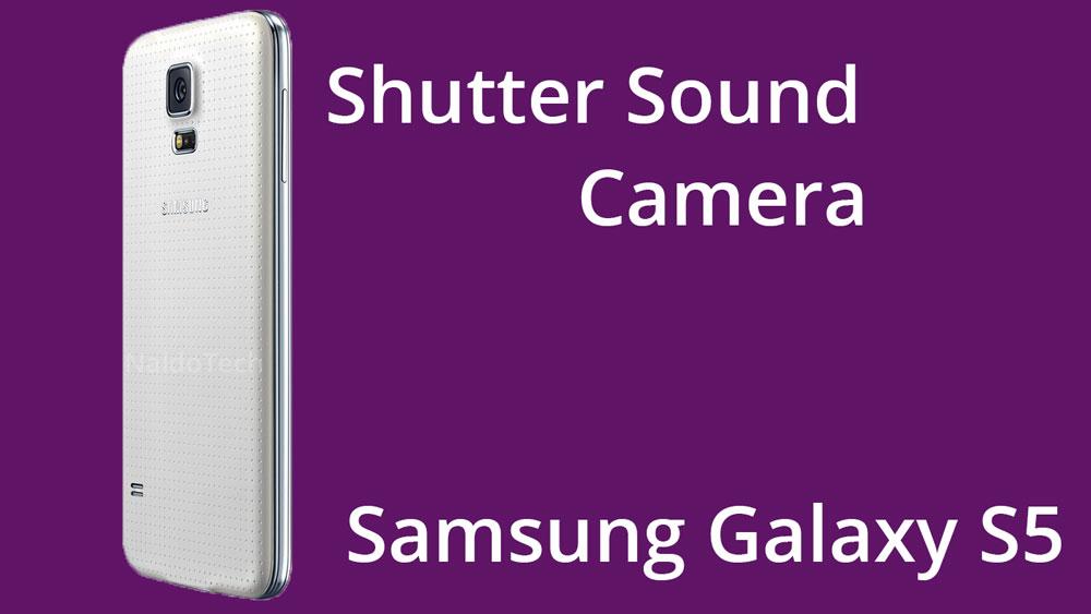 disable camera shutter sound galaxy s5