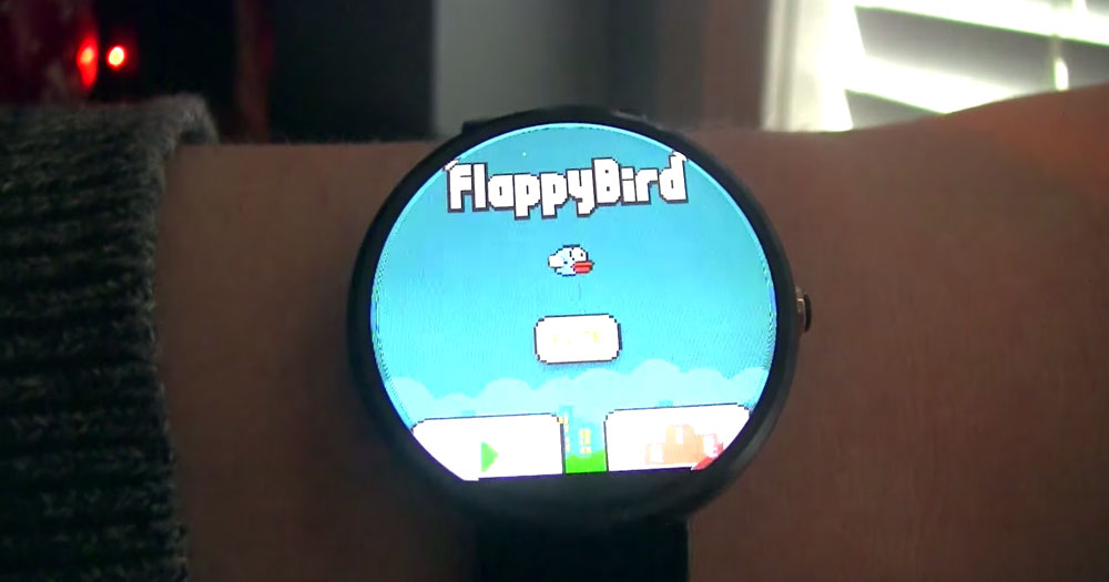 flappy bird apk android wear