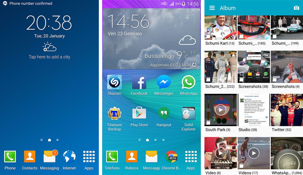 galaxy s4 apps lollipop s5