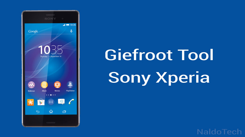 giefroot root sony xperia
