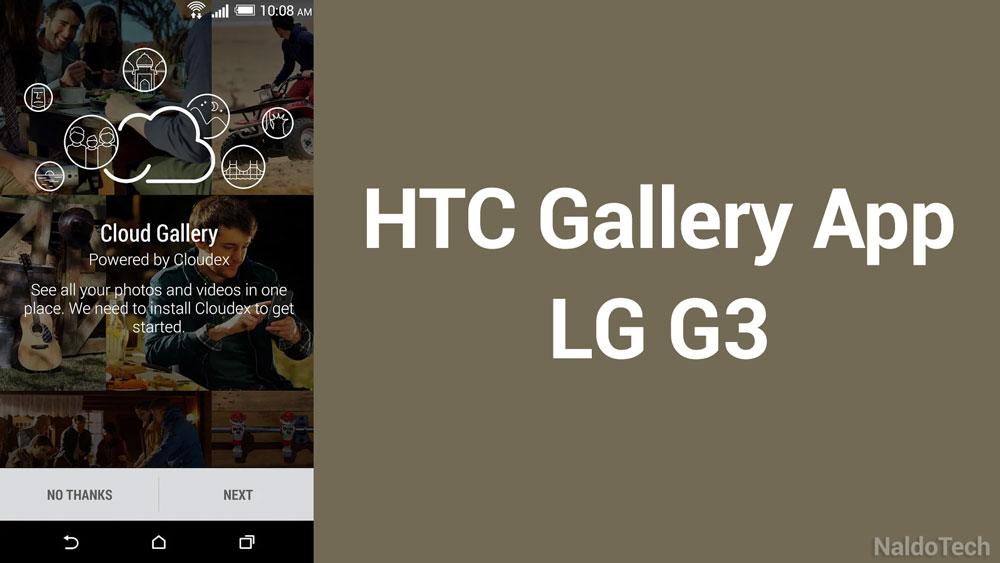 htc gallery app lg g3