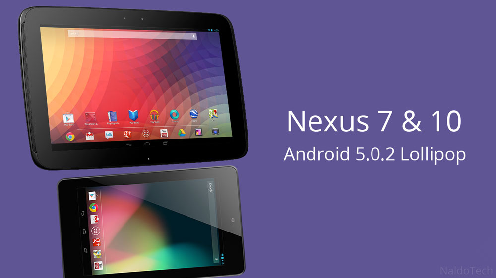 nexus 7 10 5.0.2 factory image