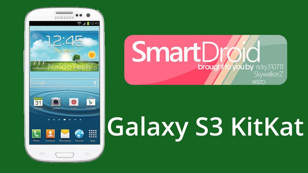 smartdroid kitkat galaxy s3