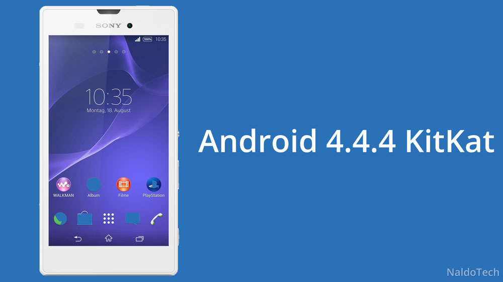Install Official Android 4 4 4 KitKat on Xperia T3 - NaldoTech