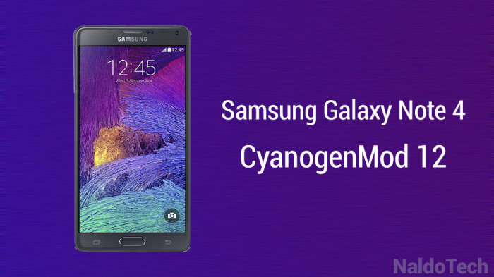Has expanded its roots to another device the samsung galaxy note 4