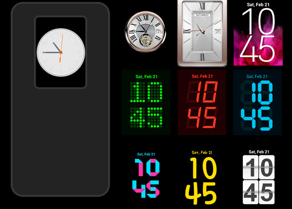 lg g2 clock widgets lollipop