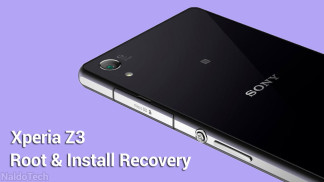 root custom recovery xperia z3