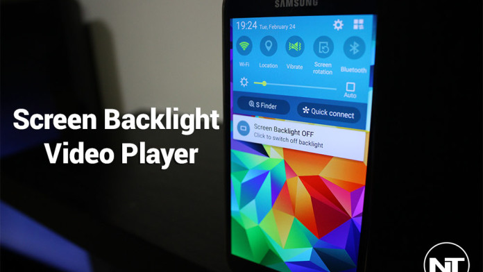 screen backlight off android