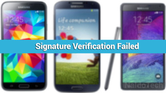 signature verification recovery failed android fix