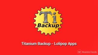 titanium backup lollipop apps