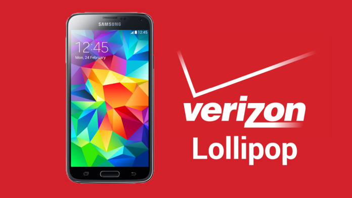 verizon galaxy s5 lollipop