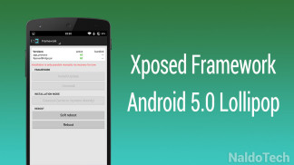xposed framework lollipop install download