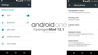 android one cyanogenmod 12.1
